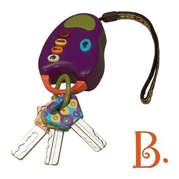 B.Toys: Zestaw kluczy samochodowych fiolet