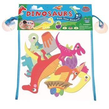 Barney&Buddy - Naklejki do kąpieli dinozaury