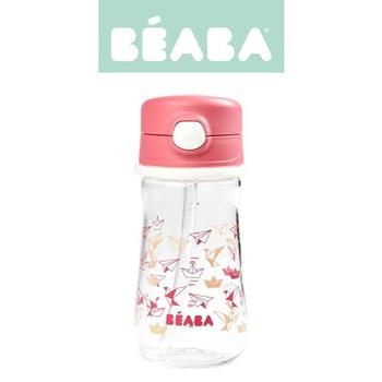 Beaba - Butelka-bidon tritanowa ze słomką 350 ml