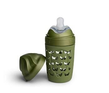 Herobility - Butelka antykolkowa zielona 220 ml