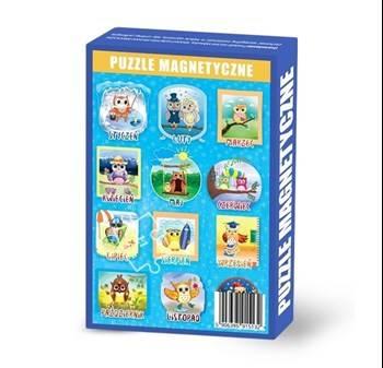 Maka KIDS - Puzzle Magnetyczne Miesiące +