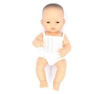 Miniland: Lalka dziewczynka Azjatka 32cm