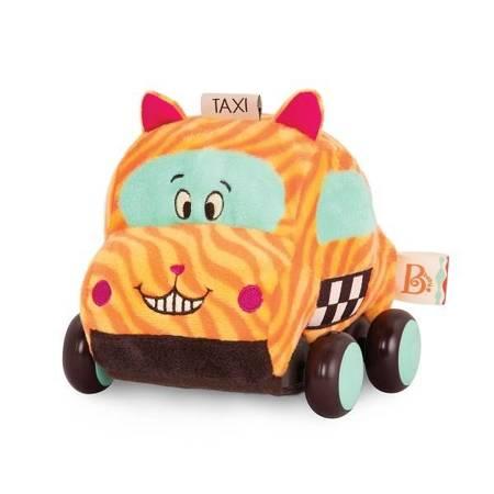 B.Toys: Pluszowe autko z napędem kotek