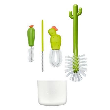 Boon: Zestaw do czyszczenia butelek Kaktusy