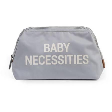 Childhome: Kosmetyczka Baby Necessities Szara