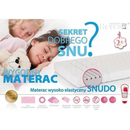 Hevea - Snudo Materac Wysokoelastyczny 80x160Aegis