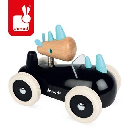 Janod - Drewniany samochód w stylu retro Rony